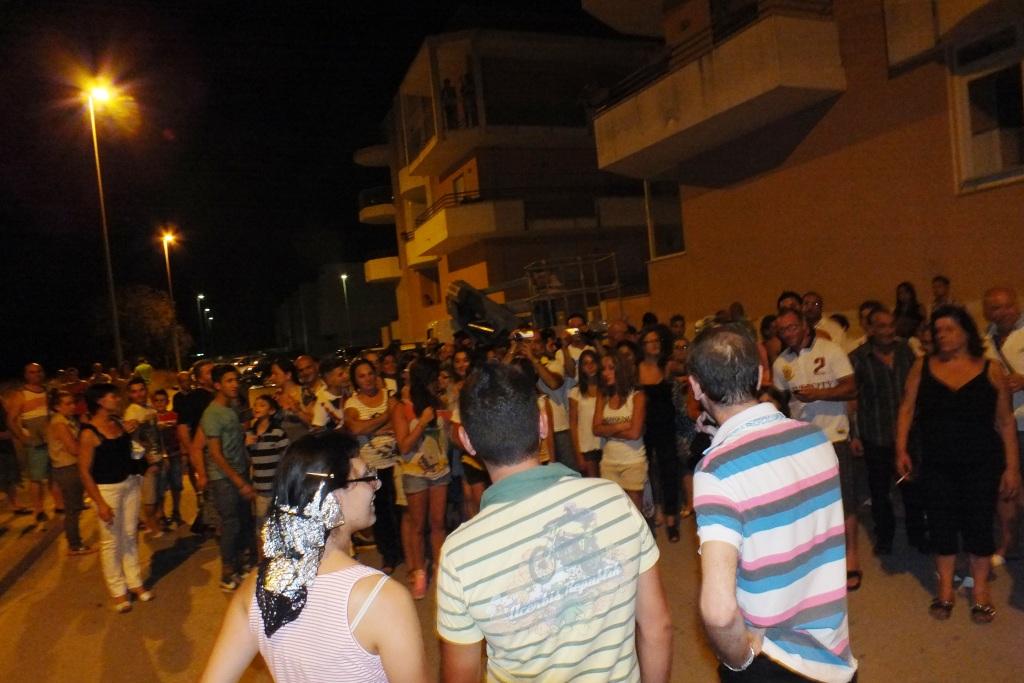 Noicattaro in Provincia di Bari, la serenata dedicata alla futura sposa