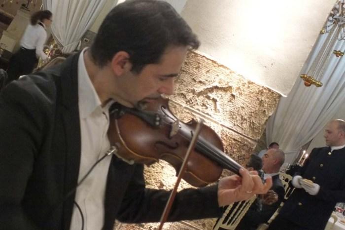 Violinista matrimonio Castello monaci
