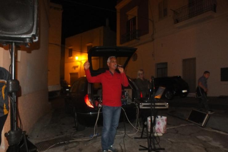 Paolo e Dalila Live musica e animanzione serenata alla sposa a Lecce e Provincia
