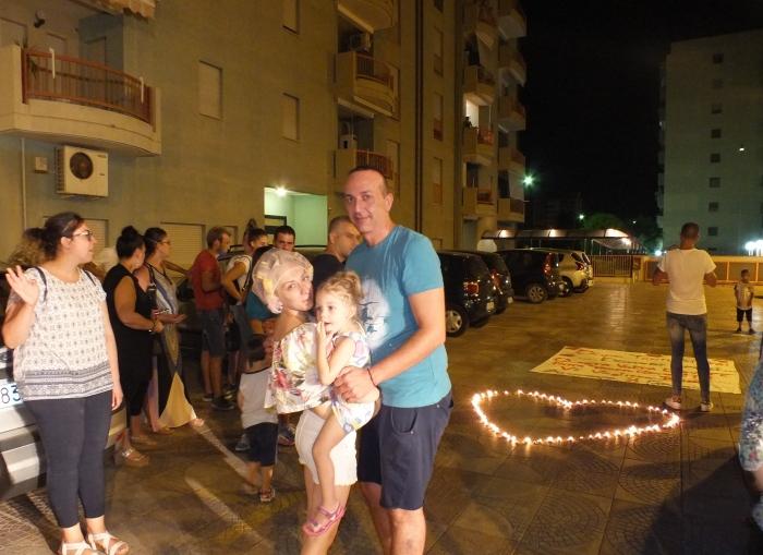 Lama provincia di Taranto la serenata alla sposa