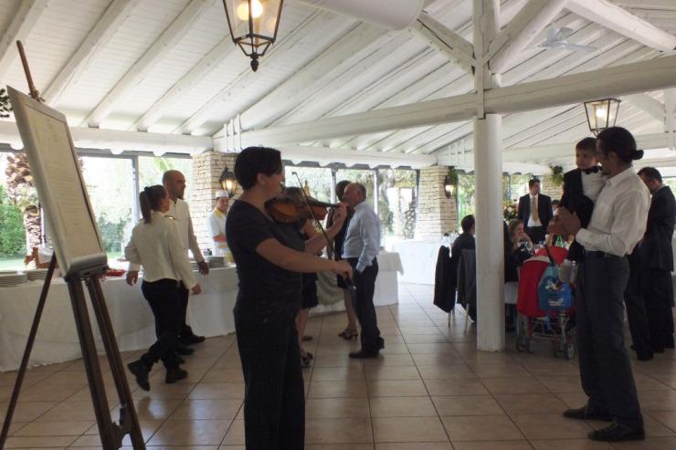Violinista per matrimonio Brindisi del gruppo di Paolo e Dalila Live