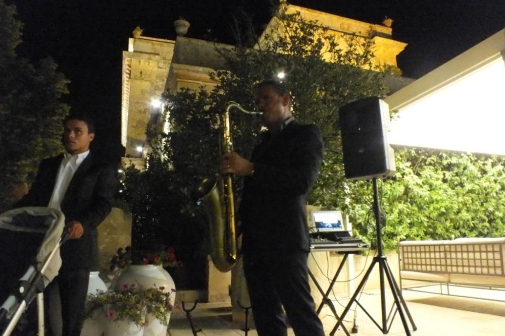 Musica matrimonio Tenuta Luca Giovanni