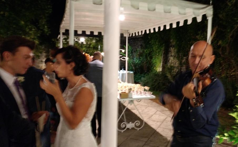 Violinista matrimonio Lecce Accoglienza sposi