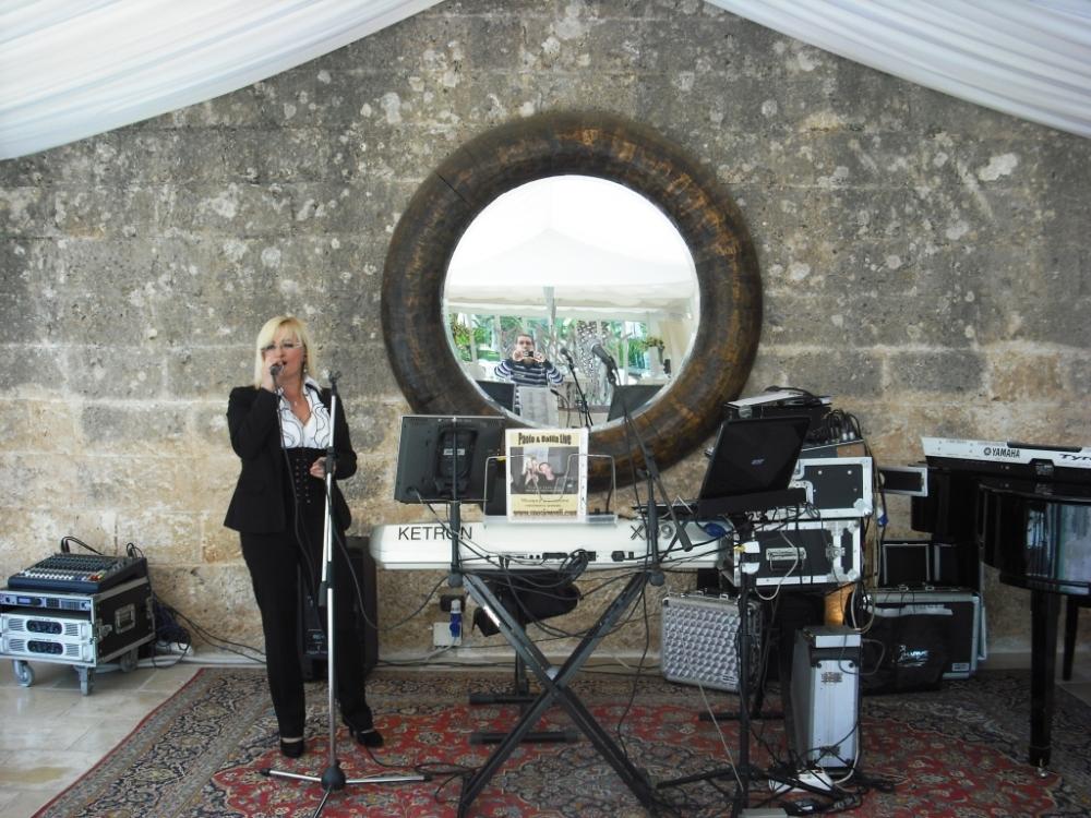 Paolo e Dalila Live gruppo per la musica la Plenilunio alla Fortezza