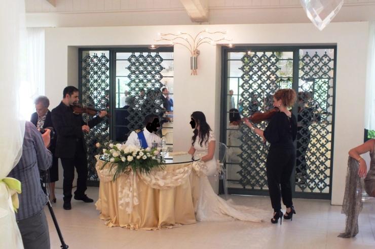 Tenuta Mascarini, Paolo e Dalila Live gruppo per musica matrimonio