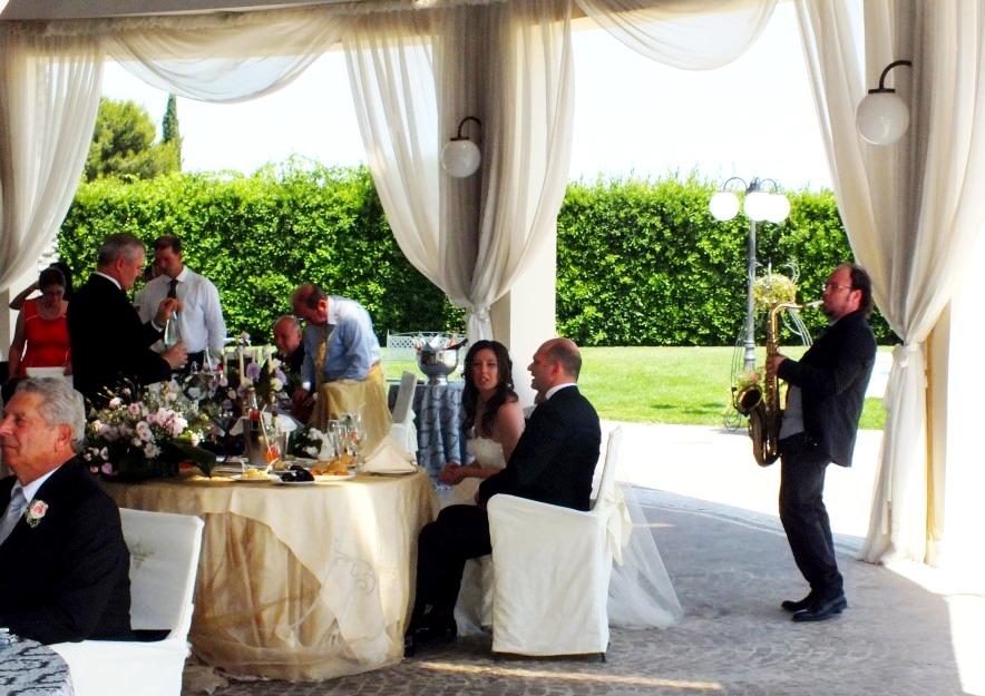Il vittoriano Brindisi musica per ricevimento di nozze