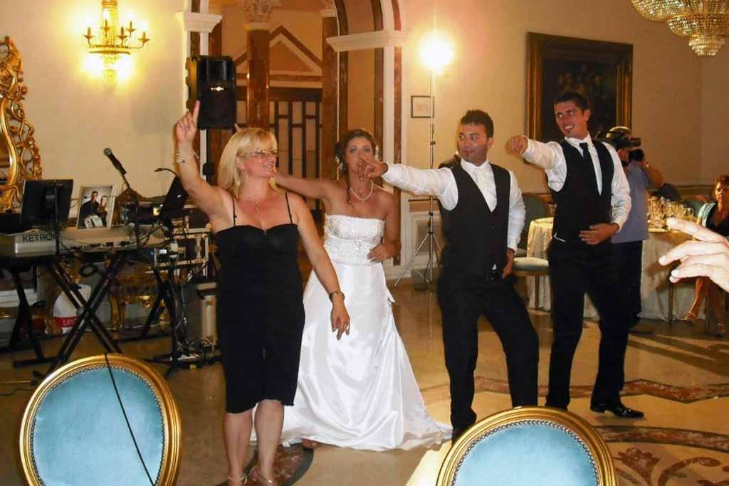 Paolo e Dalila Live band Animazione matrimonio Bari