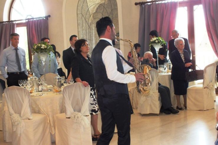 gruppo con sassofonista musica matrimonio Lecce