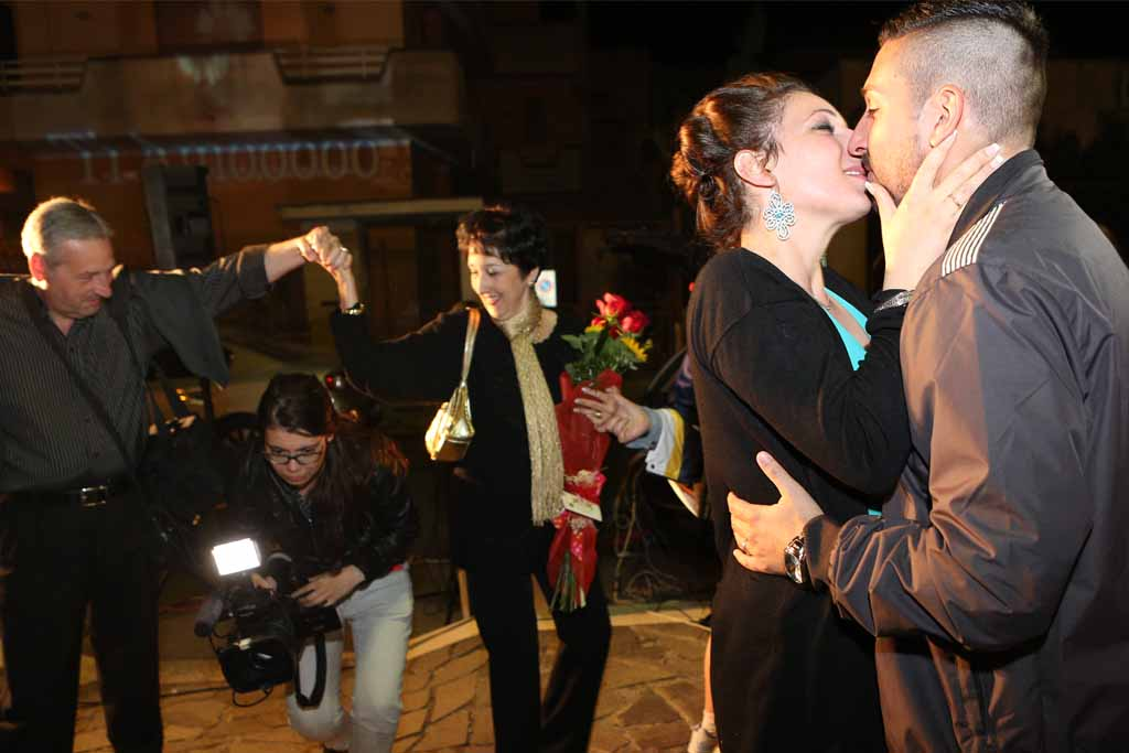 Serenata sposa castromediano frazione Cavallino