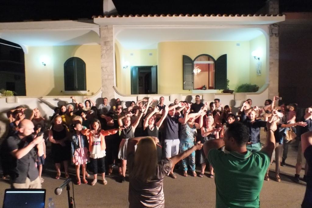 In provincia di Lecce si organizza la serenata per la sposa