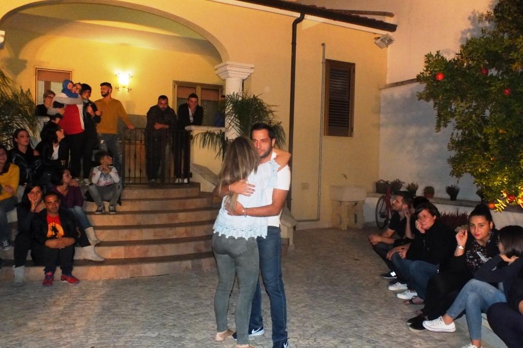 la serenata per la sposa a Tuglie, Lecce
