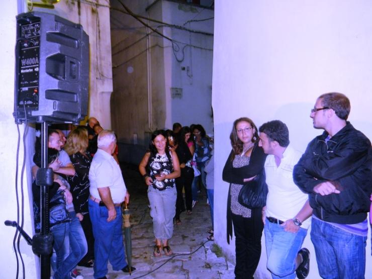 musicisti per la serenata in provincia di Bari
