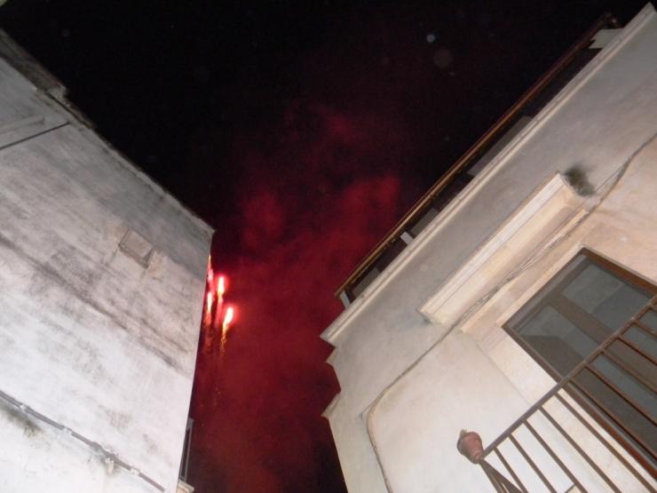 La sorpresa della serenata in provincia di Bari