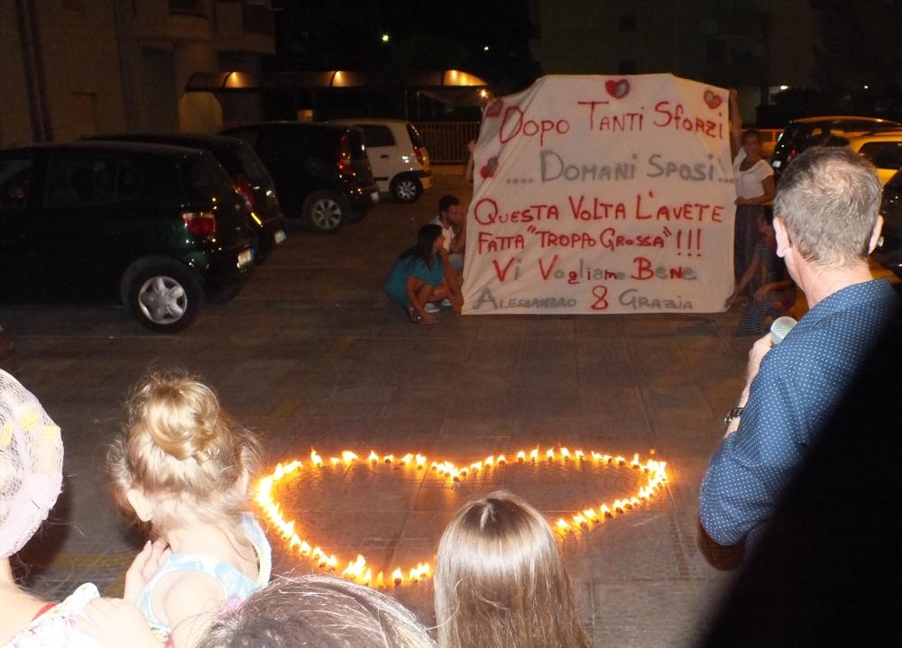 prima del matrimonio a Taranto dsi organizza la sorpresa della serenata