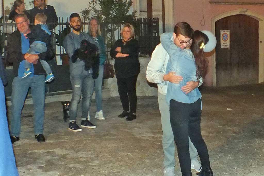 Sposi serenata Matino Lecce