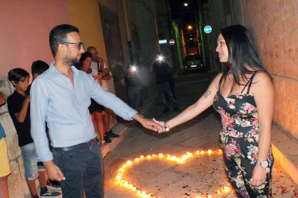 Turi Bari serenata romantica alla sposa