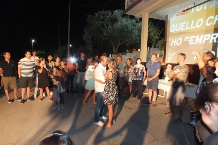 la serenata a villa Castelli in provincia di Brindisi