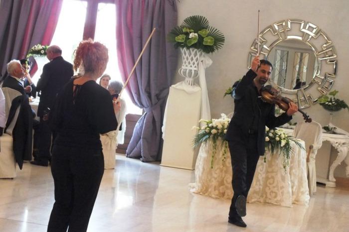 Tenuta mascarini a Carmiano violinisti per matrimonio