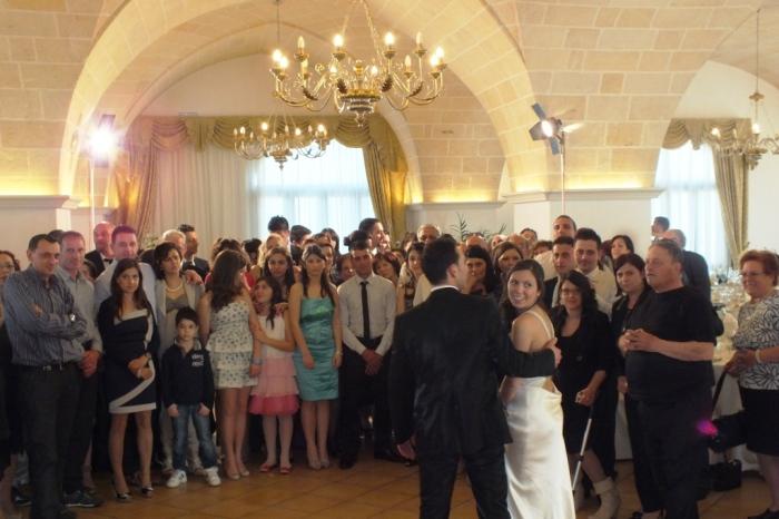 Gruppo musicale per l'animazione matrimonio Lecce, Ricevimento a Tenuta Caradonna