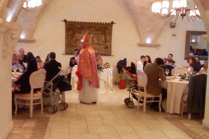 Spettacolo di cabaret per l'animazione durante un matrimonio a Taranto