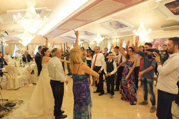 gruppo musicale per l'animazione del matrimonio a Villa Phoenix