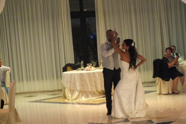 Ballo degli sposi durante il matrimonio a Montirò Ricevimenti a Leuca