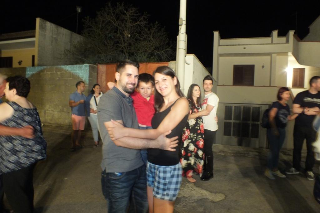 Paolo e Dalila Live organizzano la serenata alla sposa a Corigliano d'Otranto