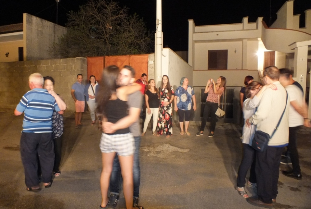 Paolo e Dalila Live gruppo musicale che ha organizzato la serenata a Corigliano d'Otranto