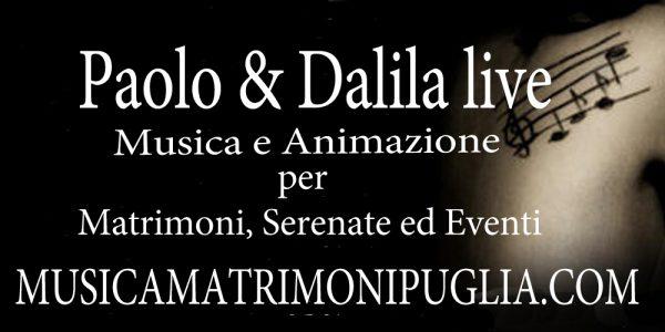 Gruppo musicale per matrimonio Lecce, Bari, brindisi, Taranto e Foggia