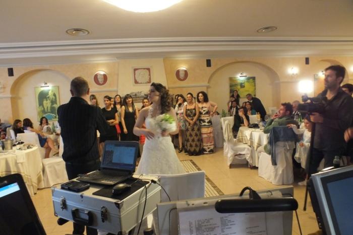 Animazione matrimoni Lecce con il dj del Gruppo di Paolo e Dalila Live