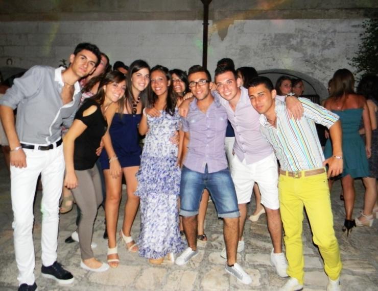 Festa di compleanno in provincia d taranto con la musica del gruppo di Paolo e Dalila Live