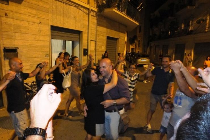La serenata alla sposa organizzata a Giovinazzo in Provincia di Bari