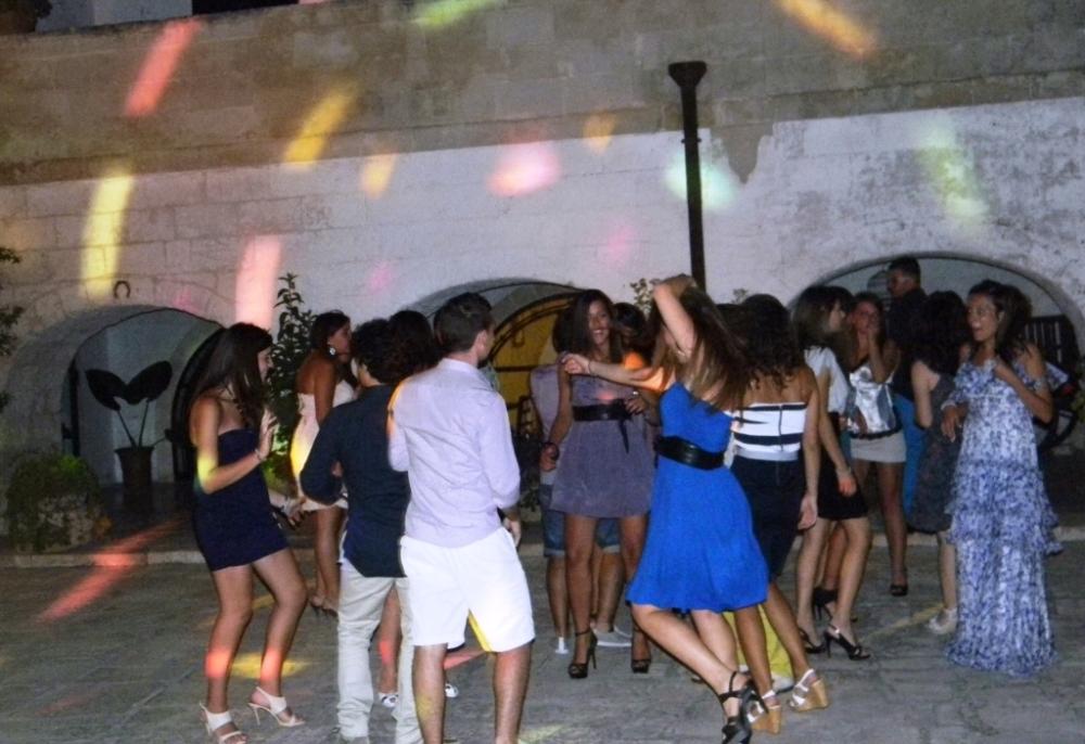 Festa di compleanno in Provincia di Taranto alla Masseria La brunetta con l'animazione del gruppo di Paolo e Dalila Live