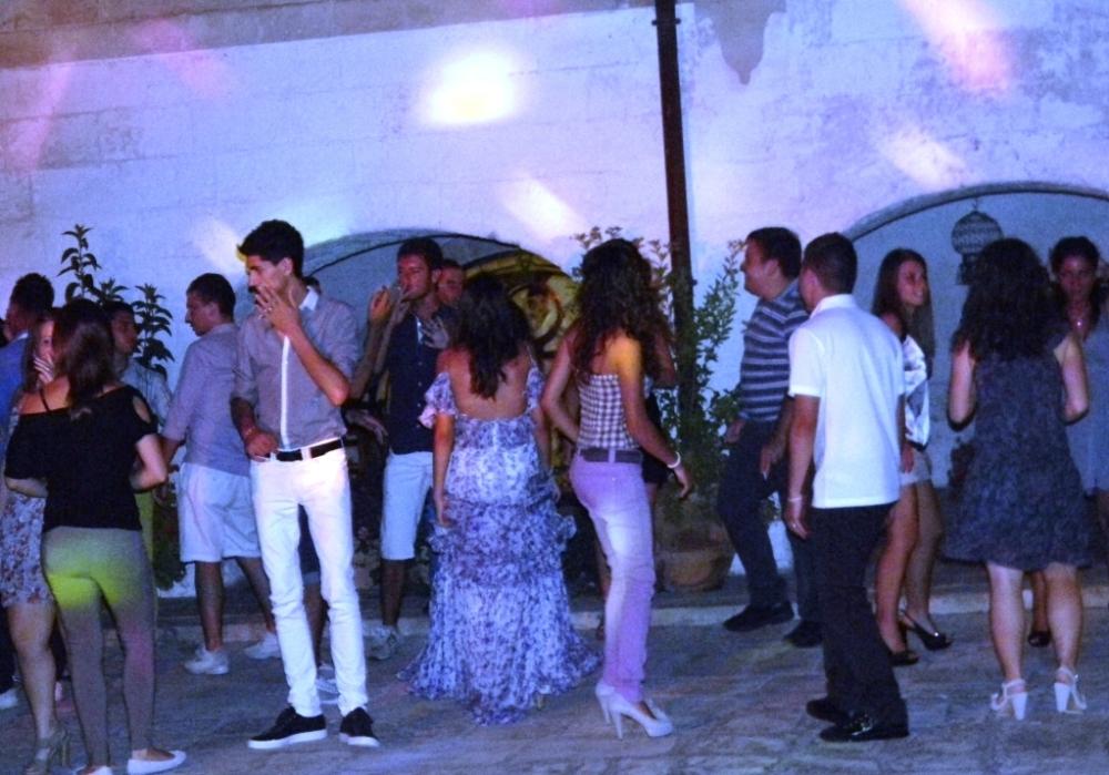 Paolo e Dalila Live alla Masseria La Brunetta a Massafra per suonare ad una festa di compleanno