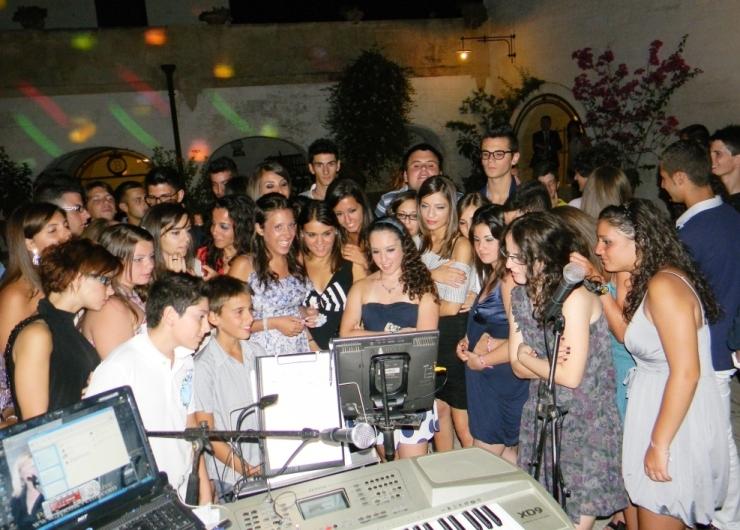 Gruppo musicale per musica e animazione feste di compleanno in Provincia di Taranto. Masseria La Brunetta