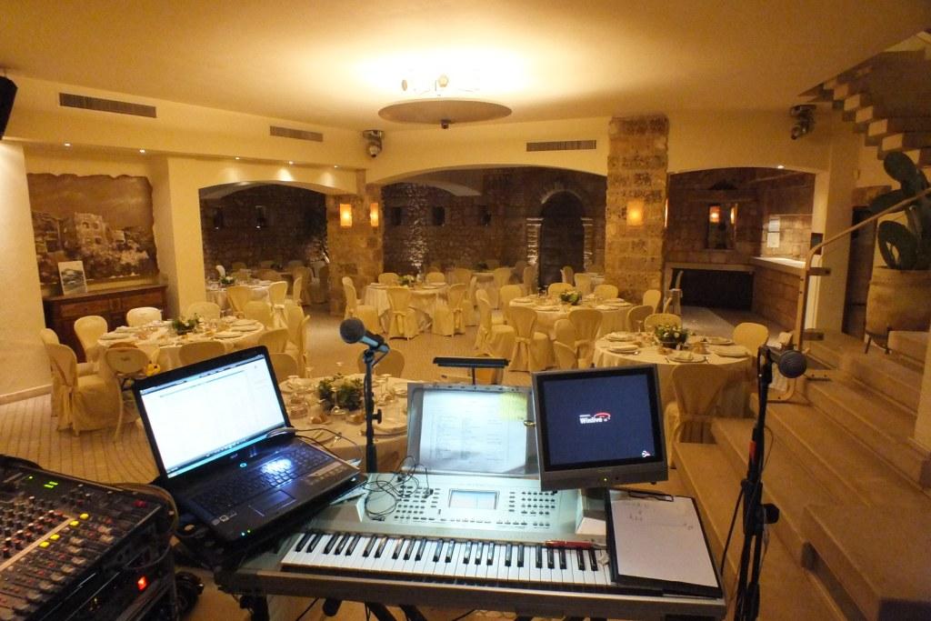 Gruppo musicale per la musica e la'nimaznione del matrimonio a Lecce, paolo e Dalila Live