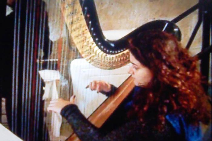 musica con l'arpa per la cerimonia religiosa del matrimonio a Taranto e provincia