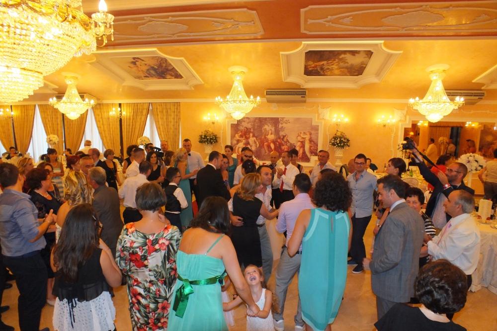 l'animazaione del matrimonio a Villa Phoenix a Copertino Lecce