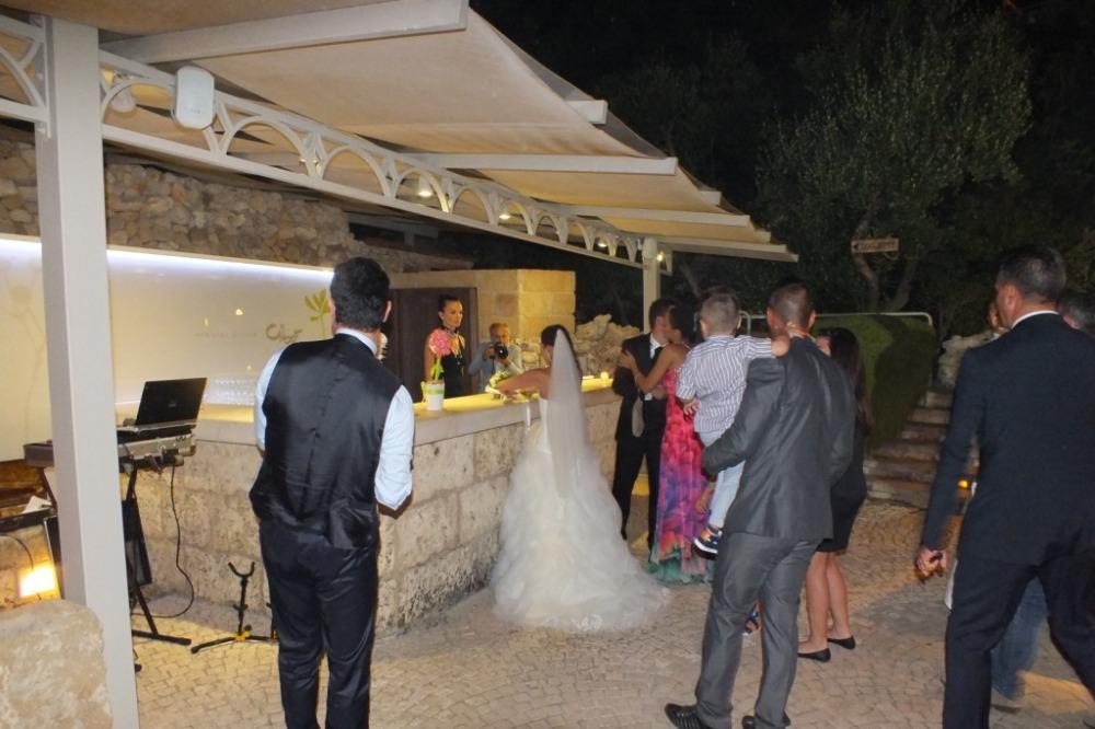 Musica per matrimonio Lecce con il sassofonista del gruppo di paolo e Dalila Live