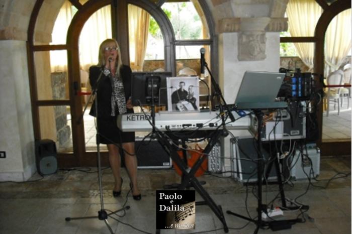 Gruppo musicale per la musica del matrimonio a Taranto e Provincia, Paolo e Dalila Live