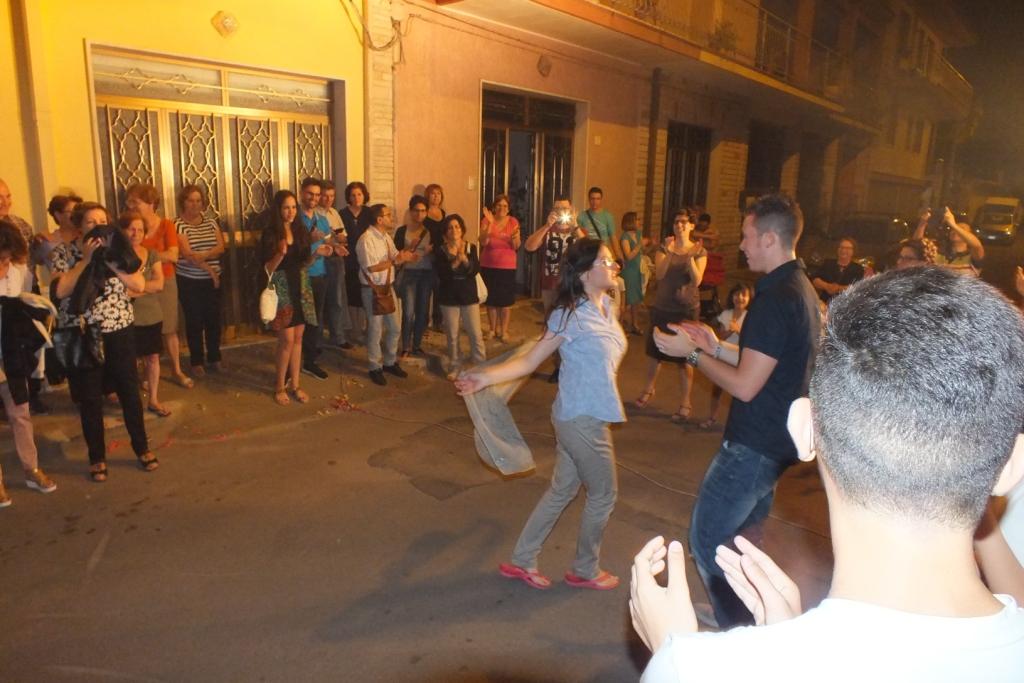 Paolo e Dalila Live musica e animazione per la serenata lla sposa a Lecce e Provincia