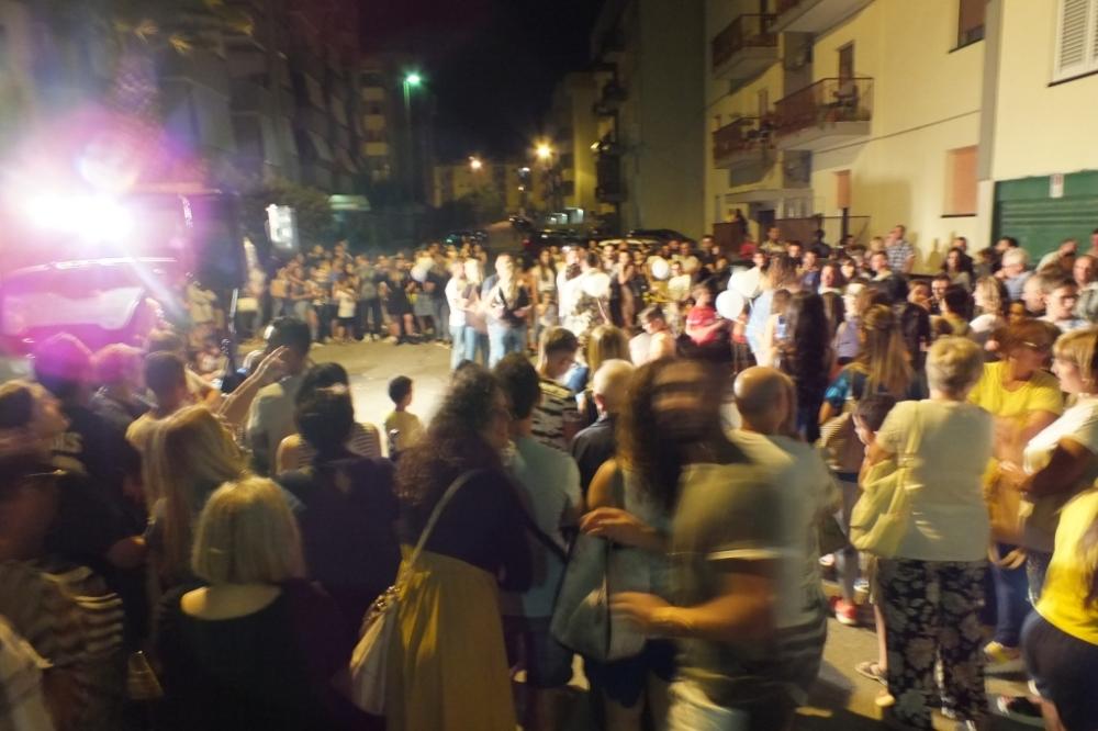 La srenata organizzata a Gravina in Puglia- Bari dal gruppo di Paolo e Dalila Live