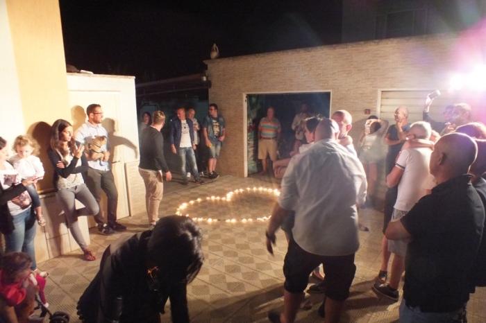 Gruppo musicale che organizza la serenata in Provincia di Taranto