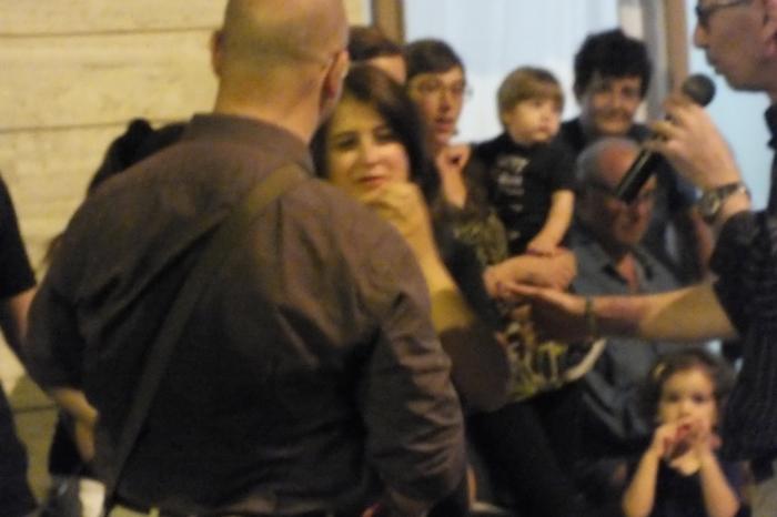 Paolo e Dalila Live musicisti che organizzano una serenata particolare da dedcare alla futura sposa a Giovinazzo in Provincia di Bari