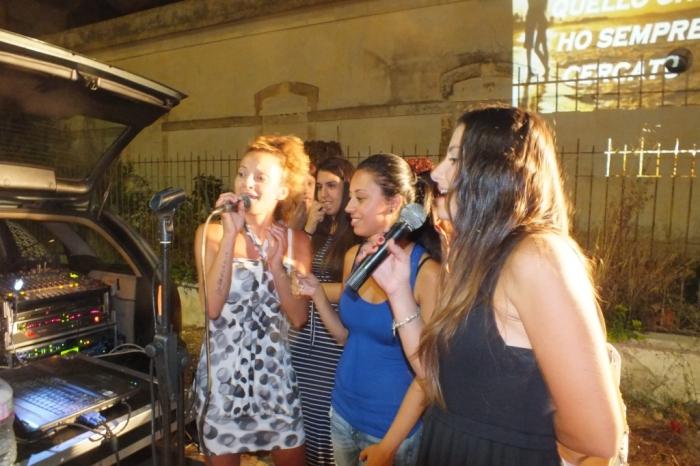 Paolo e Dalila Live organizzano la serenata a Lecce prima del matrimonio
