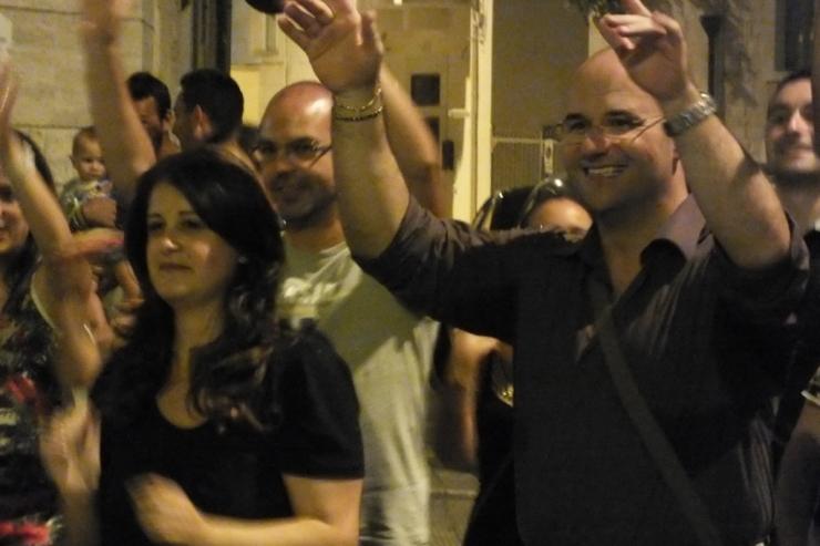 In Provincia di Bari la sera prima del matrimonio si organizza la serenata alla sposa