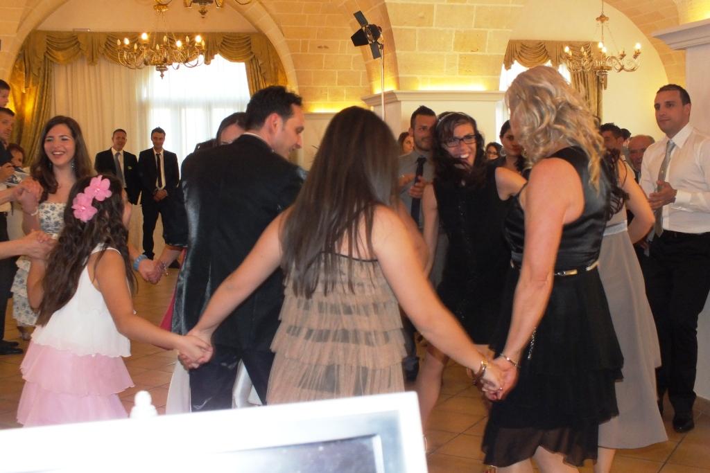 Ricevimento di nozze a Tenuta Caradonna con l'animazione del matrimonio