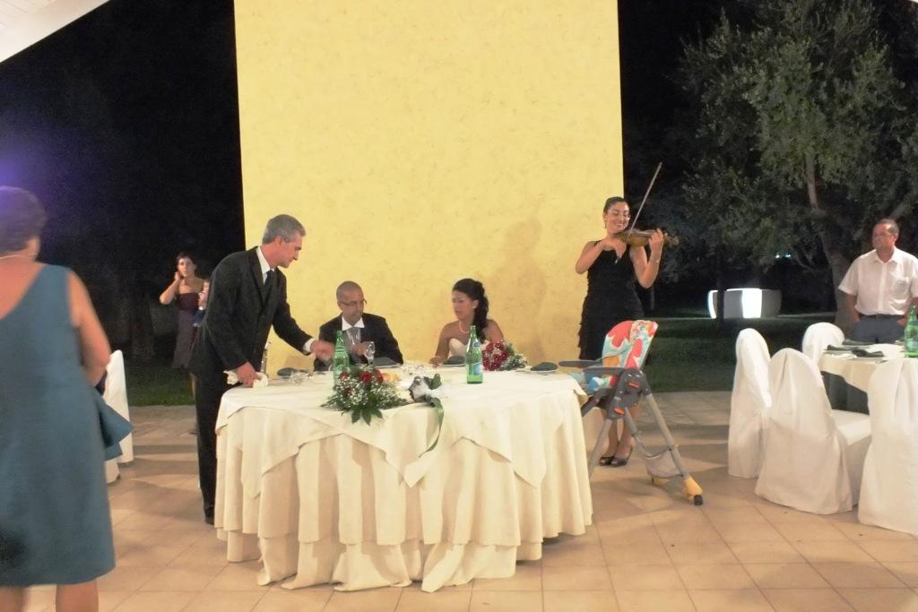 Violinista matrimonio Lecce