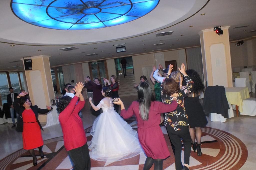 Matrimonio a lecce con l'animazione del gruppo di paolo e Dalila Live