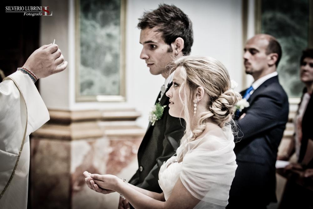 Musicisti che suonano durante la cerimonia di nozze a Lecce